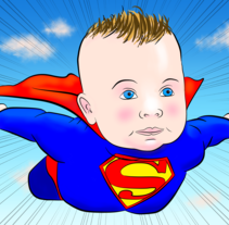 Superbabies. A Design, Illustration, and Comic project by Alessandro Alexira Aiello         - 03.01.2016