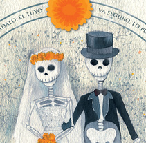 Invitación Boda. A Graphic Design&Illustration project by Isa Sandoval - Oct 31 2009 12:00 AM