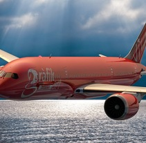 Boeing 787-8 modelando en Cinema 4D. A Design, Illustration, 3D, Animation, and Graphic Design project by Juanma Vila         - 05.01.2016