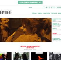 Revista digital Cine Divergente. Un proyecto de Post-producción, Cine y Vídeo de Jose Cabello Mata         - 30.06.2015