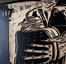 Tango!  Xilografia . Un proyecto de Artesanía y Bellas Artes de ezequiel casiano         - 07.01.2016