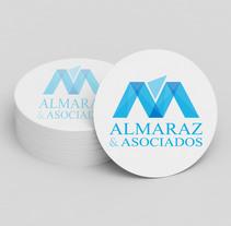 Rediseño de Logotipo - Almaraz & Asociados. Un proyecto de Diseño de Julieta Almaraz         - 07.01.2016