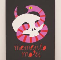 Memento mori. Un proyecto de Ilustración, Artesanía y Collage de Ainara Tavárez - 16-01-2016