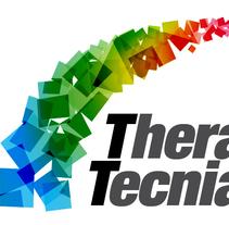 Tarjeta para la ONG Thera Tecnia. Um projeto de Design gráfico de José Luis Cid         - 03.01.2016