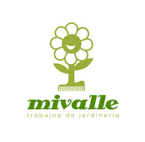 Logotipo MIVALLE - Jardinería. A Br, ing, Identit, and Graphic Design project by JOSÉ MANUEL PASTRANA MARTÍNEZ         - 08.01.2006