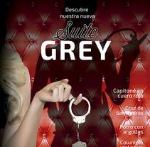 Publicidad: Suite Grey del Hotel Loob.. A Advertising, and Graphic Design project by David Zurita Gómez - 21-01-2016