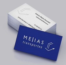 Branding & Corporate Design: Mejías Transportes. Un proyecto de Publicidad, Br, ing e Identidad y Diseño gráfico de almudena nagu - 25-01-2016