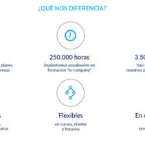 Vaughan para Empresas - propuestas de diseño. Un proyecto de Diseño Web de César Martín Ibáñez  - 23-01-2016