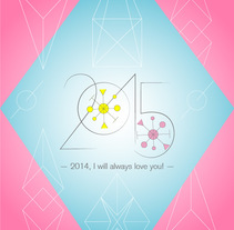 New project HAPPY 2015! (2014, I will always love you!) . Um projeto de Design gráfico de Filipa Ribeiro         - 25.12.2015