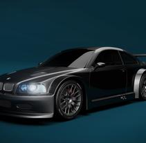BMW GTR 3. Um projeto de Design de automóveis de Borja Arias Ferradal - 26-01-2016