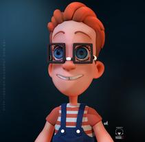 Nerdy. Um projeto de 3D e Design de personagens de gesiOH         - 27.01.2016