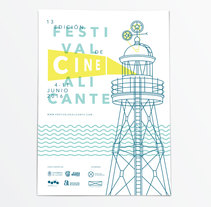 Propuesta 13 edición del Festival de Cine de Alicante. A Editorial Design, Graphic Design, and Film project by 47 bajo cero  - 28-01-2016