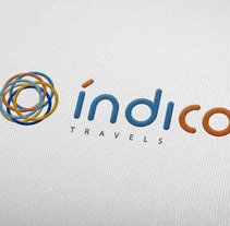 Branding Índico travels. A Br, ing, Identit, Editorial Design, and Graphic Design project by David Ramos Sánchez         - 31.01.2016