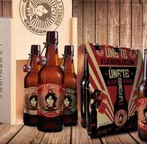 Cerveza La Pionera. A Br, ing, Identit, Editorial Design, and Graphic Design project by David Ramos Sánchez         - 31.01.2016