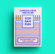 Xim Pam Pum. A Br, ing, Identit, Graphic Design, and Web Design project by María Marco Medina         - 03.02.2016