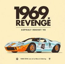 1969 REVENGE. A Illustration, and Art Direction project by CranioDsgn         - 04.02.2016