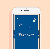 Yarnover. A Br, ing, Identit, Graphic Design, Web Design, and UI / UX project by María  Marco Medina - Feb 07 2016 12:00 AM