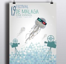 19 FESTIVAL CINE DE MÁLAGA. A Design, Advertising, Film, Video, TV, Br, ing, Identit, Events, Fine Art, Graphic Design, Marketing, and Film project by Madness Design         - 07.07.2015