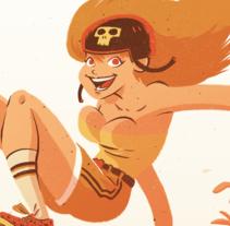 Check your boobs!. Un proyecto de Ilustración, Diseño de personajes y Comic de Germán  Torres - 07-02-2016