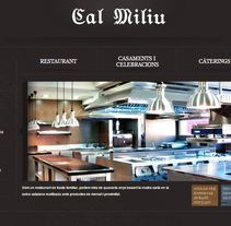 Web Cal Miliu. A Web Design project by Chakrani - 13-02-2016