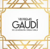 Premios Gaudí - Acadèmia del Cinema Català. A Design, and Animation project by Marcela Fuquen         - 22.02.2016