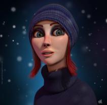 Snow. Um projeto de 3D e Design de personagens de gesiOH         - 23.02.2016