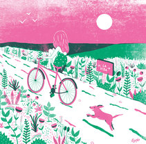 """Ilustración inspirada en la canción """"Mutt"""" de Ben Harper. Un proyecto de Diseño e Ilustración de Tània García Jiménez - Miércoles, 24 de febrero de 2016 00:00:00 +0100"""