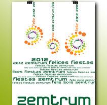 Carteles Navidad, Centro Comercial Zemtrum, La Palma del Condado, Huelva. A Graphic Design project by Maite Serna         - 07.01.2015