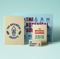 The Botanical Society. A Graphic Design project by María  Marco Medina - 28-02-2016