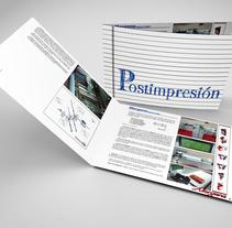 Manual PostImpresión. Un proyecto de Diseño editorial de Samuel Bellón         - 28.02.2016