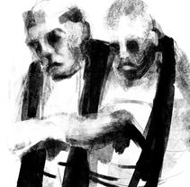 Viñetas del día. A Fine Art&Illustration project by carmen esperón - Mar 01 2016 12:00 AM