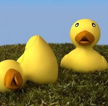 Pato de goma 3D. Um projeto de 3D de Anselmo Resa Rodríguez         - 06.03.2016
