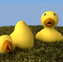 Pato de goma 3D. Un proyecto de 3D de Anselmo Resa Rodríguez         - 06.03.2016