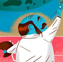 PEINCIPIA MAGAZINE: PINTANDO LA VIDA. Un proyecto de Diseño de personajes e Ilustración de Jhonny  Núñez - Miércoles, 09 de marzo de 2016 00:00:00 +0100