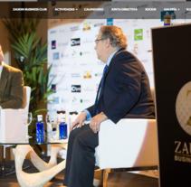 Zaudin Business Club. A Web Design project by Álvaro Cordero Herrera - Mar 10 2016 12:00 AM