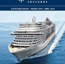 MSC Catalogue. Un proyecto de Diseño editorial y Diseño gráfico de Carolina Segal         - 09.12.2012