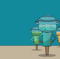 ¡Hola! Soy Pot-Bot . Un proyecto de Animación de laollaelectrica         - 13.03.2016