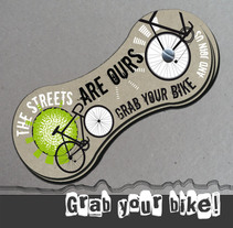 Grab your bike!. A Design, Illustration, Advertising, Art Direction, Events, Graphic Design&Information Design project by Adri Nalin - 15-05-2014