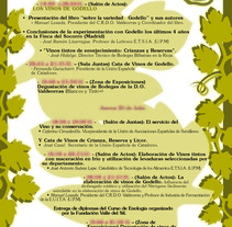 Cartel Aniversario Valdeorras. A Graphic Design project by Elena  Ojeda Esteve - 13-07-2006