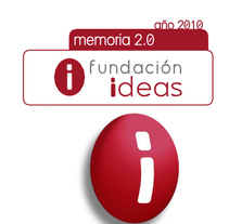 Memorias anuales Fundación IDEAS. A Graphic Design project by Elena  Ojeda Esteve         - 18.06.2011