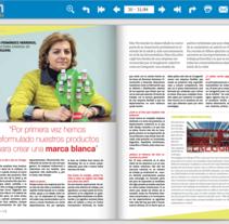Entrevista directora general de Ceregumil (Páginas 30-33). A Writing, Cop, and writing project by Mari Carmen Jaime Marmolejo         - 29.02.2016