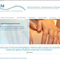 Diseño gráfico y diseño web para Osteopatía MJM. A Br, ing, Identit, Graphic Design, Marketing, Web Design, and Web Development project by Rafael J. Mora Aguilar         - 22.03.2016