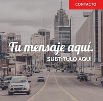 BANNER INSTAGRAM PERSONALIZADO. A Graphic Design project by Posicionamiento web Barcelona         - 23.03.2016