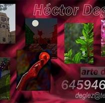 PINTURAS EN FORMATO DIGITAL,. Un proyecto de Ilustración de Héctor González         - 23.03.2016
