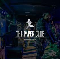 The Paper Club. Un proyecto de Diseño, Br, ing e Identidad, Diseño gráfico y Diseño de interiores de John O'Hare         - 30.03.2016