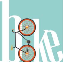 Curt bicicleta de colors. Um projeto de Motion Graphics e Vídeo de alba santamaria         - 05.04.2016