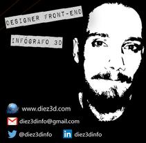 www.diez3d.com. Um projeto de 3D, Br, ing e Identidade, Design gráfico e Design de interiores de Jose Díez Rodríguez         - 06.04.2016