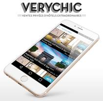 VeryChic APP Mockups. A Design, Advertising, UI / UX, Marketing, and Web Design project by Paulo Marques         - 30.11.2015
