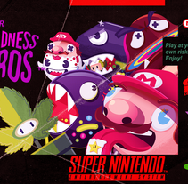 Super Madness Bros™. A Illustration, Character Design, Graphic Design, and Lighting Design project by Juan Felipe Amaya Guarin - 12-04-2016