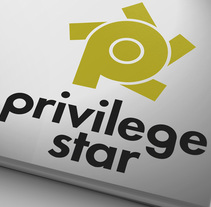 Privilege Star Brand. Um projeto de Br e ing e Identidade de Jose Ribelles         - 13.04.2016